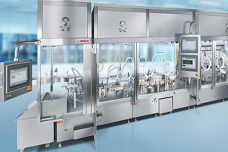 Pharmaceutical Filling And Closing Equipment For Vials
