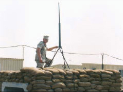Com201b lightweight vhf communications antenna for B b com