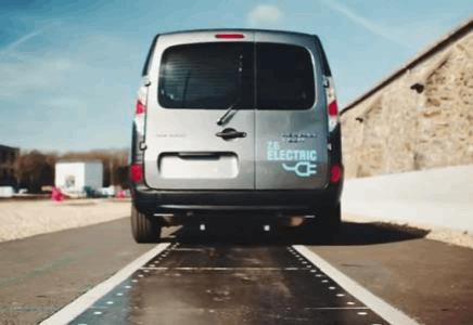 Electric road powers Renault EVs