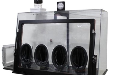 Ultra-Low Humidity Dispensing Enclosure for Solvents and Solids