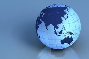 globe-on-blue
