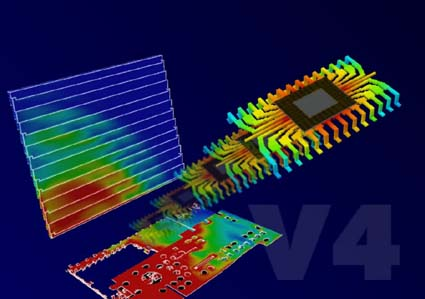 Thermal And Electromagnetic Modeling Combined In Flomerics Latest Software An Industry First