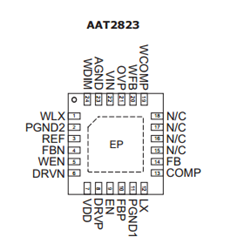 Step-Down TFT-LCD DC-DC Converter: AAT2823