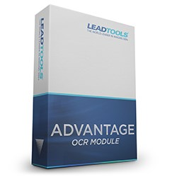 LEADTOOLS Advantage OCR Module