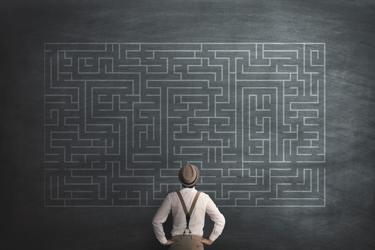 Solving Challenges Puzzle Maze