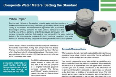 Composite Water Meters: Setting The Standard
