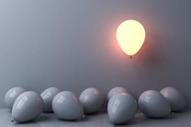 Balloon Bulb Light