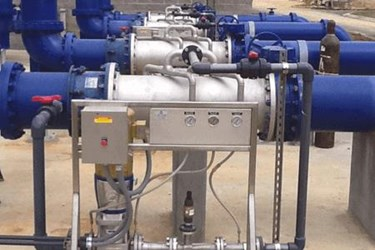 In-line Aeration System Provides Required Level of Dissolved Oxygen in Pressurized Effluent Line_PIX