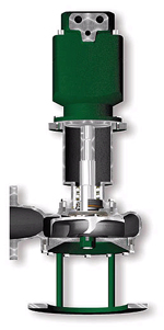 Hydraulic submersible centrifugal chopper pumps for Submersible hydraulic pump motor