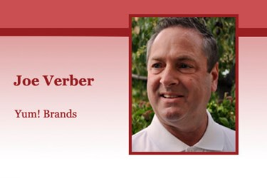 Joe Verber, RLPSA, Yum! Brands