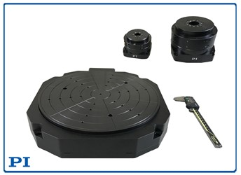 Low Profile Rotary Air Bearing Stages With Superior Accuracy: A-635/A-637 PIglide