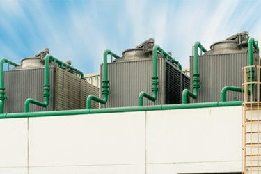 Rooftop cooling water systems