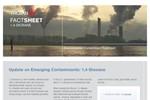 1,4-Dioxane - Emerging Contaminants (Fact Sheet)