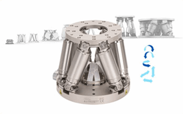 New Compact Hexapod With Higher Performance For Industrial Alignment Applications