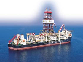 Saipem 10000 Drilling At World S Greatest Water Depth
