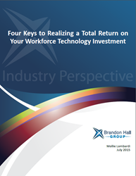 Workforce Technology Investment