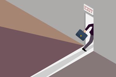 Exit-Leave-Door
