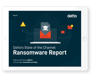 The Global State Of The Channel Ransomware Report