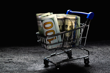 Cart Of Money