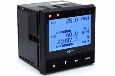 9950 Transmitter with values-lit face small size