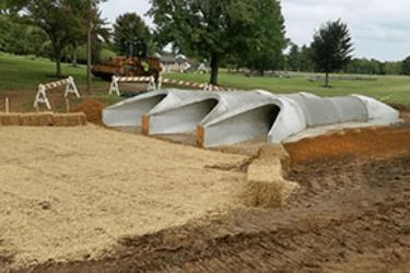 Unique Precast Pipe Structure Helps Community Park With