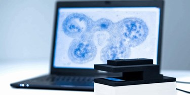 Compact, Lens-Free Microscope Demo Kit Adapts To User Applications