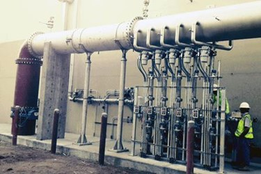 Update and Upgrade of Ozone Dissolution System at Southwest Water Treatment Plant_PIX
