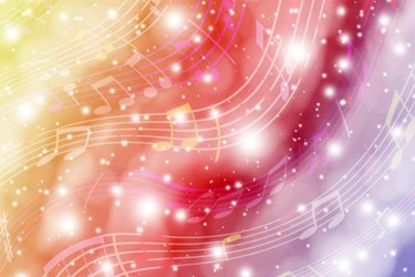 iStock colorful music notes