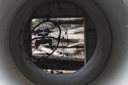 Drones Flying Below Your Feet
