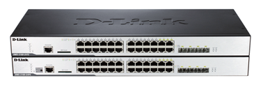 D-Link DWS-3160 L2+ Unified Wired/Wireless Gigabit PoE Switches