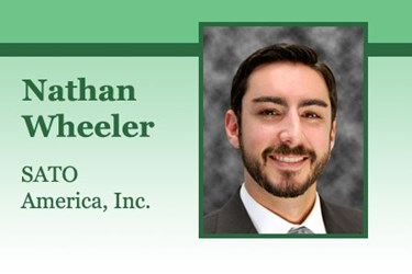 Nathan Wheeler, Distribution Merchandising Manager, SATO America, Inc.