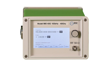 New Model 865 100 kHz Up To 40 GHz RF/Microwave Signal Generator