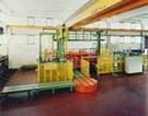 Bulk Palletizer for Glass Containers