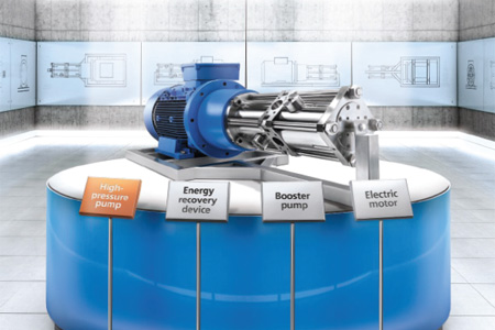 KSB Introduces The Most Efficient High-Pressure Pump Unit For RO Systems