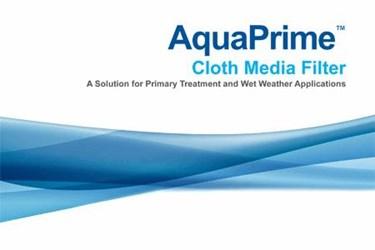 AquaPrime™: Cloth Media Filter