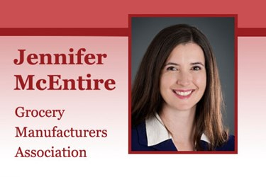 Jennifer McEntire is the GMA VP of science operations