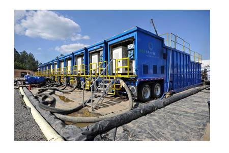 Hydraulic Fracturing Gives Rise To New Water Treatment