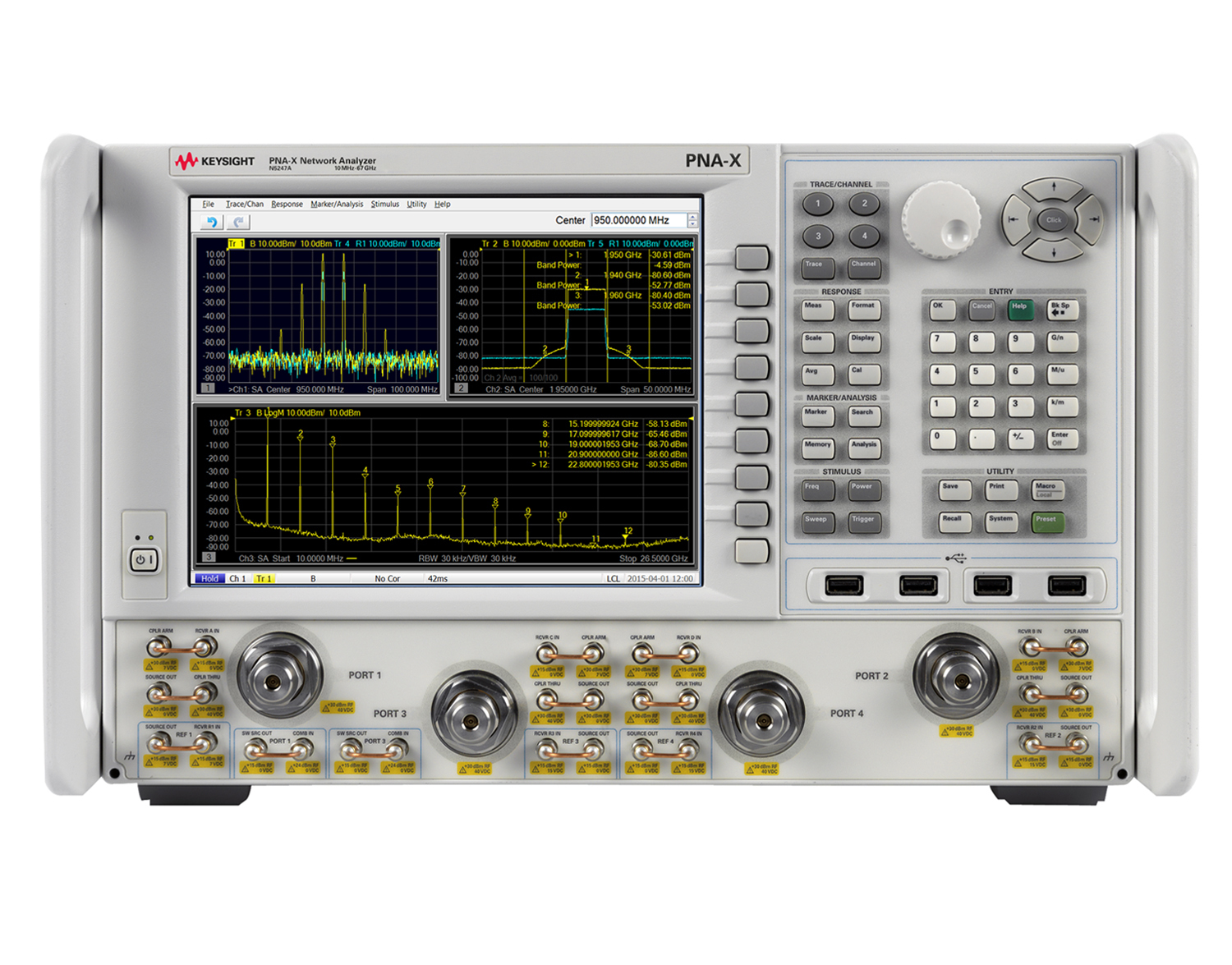 Keysight Technologies Integrates Spectrum Analyzer Capability Into