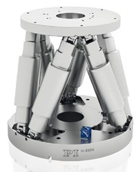 High-Load Hexapod for Precise and Repeatable Positioning: H-850KLMD