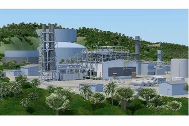 Propane Power Plant