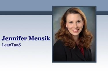 HITO Jennifer Mensik, LeanTaaS