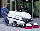 MADVAC PS300 Pedestrian Friendly Sweeper