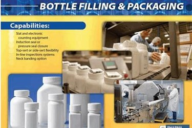 Pharmaceutical Contract Bottle Filling Services for Solid Dose Drug Products