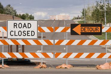 Road block roadblock
