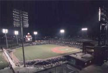 T&B lights AAA baseball stadium