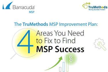 The TruMethods MSP Improvement Plan: 4 Areas You Need To Fix To Find MSP Success