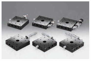 X-Axis Steel Extended Contact Slide Stages: TSD-651