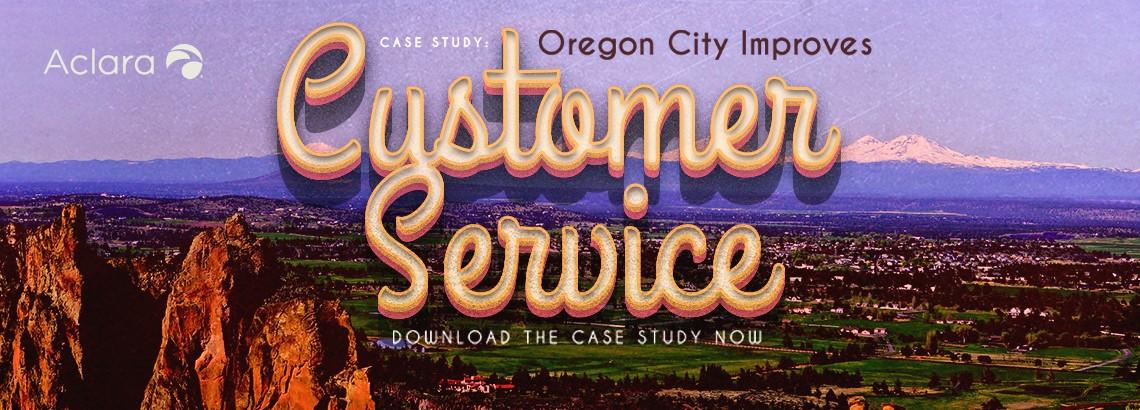 Oregon City Improves Customer Service With Aclara RF Network