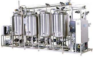 Single And Multiple Tank Clean In Place Or Cip Systems