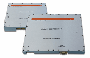 0.7-6 GHz Solid State Hybrid Power Amplifier Modules